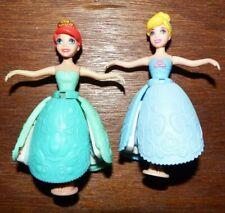 Disney petal float princesses Ariel Cinderella figure bundle toy playset RARE