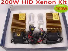 200W HID Xenon Conversion Kit Bulb Lamp Light H1 H7 H3 H11 9005 9006 White 6000K