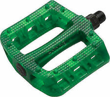 Primo Stance BMX Pedals Clear Green