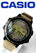 Vintage rare year 1987 Casio W-76 module 593 men's quartz digital watch