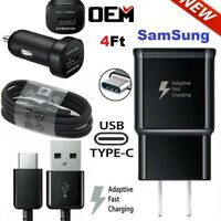 Original Samsung Galaxy Note9 S8 S9 S10Plus Fast Wall Charger USB-C Type-C Cable