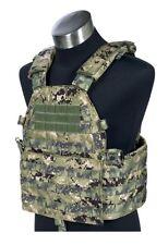 FLYYE LT6094 LBT Plate Carrier MOLLE Tactical Armor Vest – AOR2 Navy Seal Camo