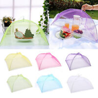 Mesh Screen Protect Food Cover Folding Net Umbrella Kitchen Picnic Food CoveB&R