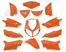 Capot pour Peugeot Speedfight 2 Kit carénage en Orange Mat 13 Pièces