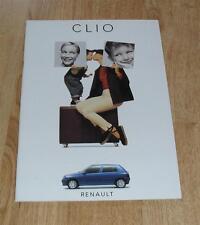 FOLLETO De Renault Clio 1994 1.2 1.4 1.9D 16V dejó RSI
