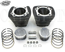 Sportster Big Bore Conversion Kit 883 to 1200 Black Cylinders with 9.5:1 Pistons