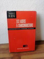 Les Lasers A Chaque Semiconducteurs Bogdankèvitch Mir Moscou 1979