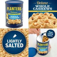 Planters Deluxe Lightly Salted Whole Cashews, 18.25 oz Resealable