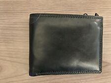Fossil Black Leather Men's Wallet with Flip-Out ID Holder