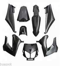 Kit de carenado carrocería DERBI Negro 8 chapas Senda XRace Xtrem DRD nuevo