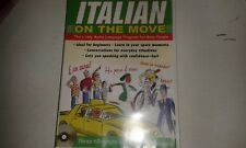 ITALIAN ON THE MOVE 3 CDS AND BOOKLET IN CASE