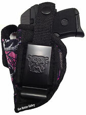 Sig P238 | Gun Holster OWB Pink Purple Camo | Muddy Girl | Use L or R Hand