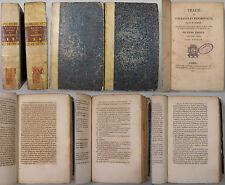 George Battur TRAITE DES PRIVILEGES ET HYPOTHEQUES 1824 Paris 4 tomi Diritto