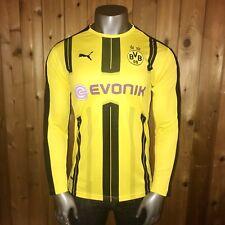 NWT! Puma 2016/2017 Bundesliga Borussia Dortmund Men's XL Long Sleeve Jersey