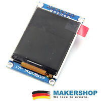 1.8 1.77 Zoll TFT 128x160 SPI ST7735 Display Anzeige Arduino Raspberry Pi