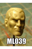 "ML039 Ares BAF Custom Cast male head use with 6"" ML Legends action figures"