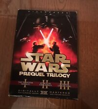 Star Wars Prequel Trilogy (DVD, 2008, 6-Disc Set, Checkpoint Sensormatic Widesc…