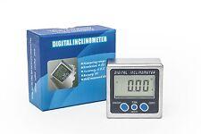 Digital Bevel Box Inclinometer Angle Gauge Protractor 12 Months Warranty