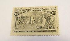 Scott #237 10C Columbian Mint Hinged