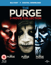 The Purge: 3-movie Collection Blu-ray (2016) Ethan Hawke ***NEW***