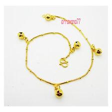 Jewelry Bracelet Charm Anklet Bell 9 inch Bell 22K 24K Thai Baht Gold Plated