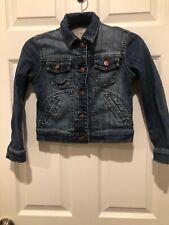 Joes Girls Medium Jean Button Up Jacket