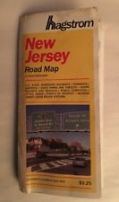 Vintage 1993 HAGSTROM New Jersey Road Map