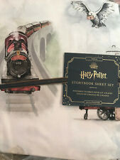 Pottery Barn Kids Harry Potter Full Storybook Sheet Set NEW 4 Piece