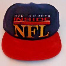 New Vintage Hbo Sports Inside The Nfl Logo Snapback Hat Cap Wool Suede Bill