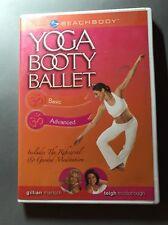 Yoga Booty Ballet Beachbody Dvd Basic Advanced - Tone Trim Tighten Free Shipping