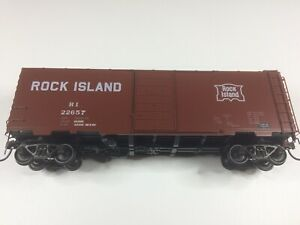 Kadee Cars 4129 40' PS-1 Boxcar 6' Door Rock Island #22657