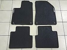 2015 Chrysler 200 All Weather Slush Rubber Floor Mat Set OEM 82214179