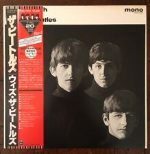 The Beatles - With The Beatles RED MONO Rare Japan 1986 ROCK Japanese LP OBI