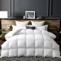 100%Goose Down Comforter Luxurious All season Duvet  Hi-Tech Skin-Friendly Cover