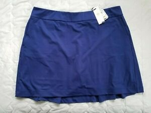 1 NWT EP NEW YORK WOMEN'S SKORT, SIZE: X-LARGE, COLOR: INKY (J192)