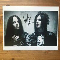 Murderdolls original hand signed autograph 8x10 photo IP joey jordison slipknot