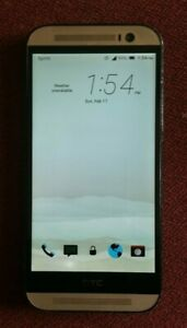 Sprint HTC ONE M8 Gold 831C 32GB 4G LTE Android Smart Cell Phone *READ*