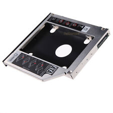 """2.5"""" SATA 2nd SSD HDD 12.7mm Hard Drive Caddy For Laptop CD/DVD-ROM Optical Bay"""