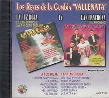 La Luz Roja VS La Chanchona Los Reyes De La Cumbia Vallenata CD Nuevo Sealed