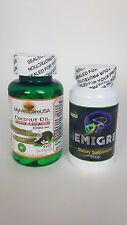 Hemigrey + Coconut Oil, Focus Factor nutrarelli memory concentration Low weight