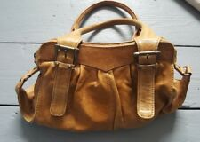 Oasis Natural Soft Tan Leather Shoulder Handbag