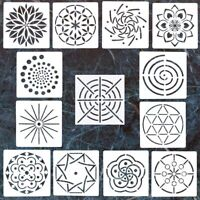 13 Pcs Mandala Dot Painting Templates Stencils for DIY Painting Art Molds