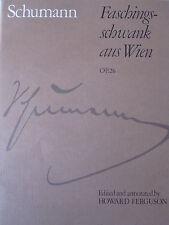 SCHUMANN Faschings-schwank aus Wien Op.26 Piano pub. ABRSM