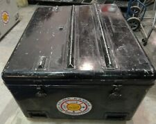 Steel Civil Defense Fire Department Steel Storage Cabinet Box  Lid Fold Up Table