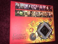 Game Of Thrones Royal Mail  Fire And Blood Metal First Day  Stamp Cover