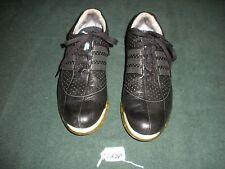 Men's Adidas Clima Proof Fitfoam Black  Size 8.5 Golf Shoes GA269