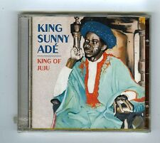 CD (NEW) KING SUNNY ADE KING OF  JUJU