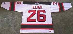 Patrik Elias Autographed Jersey XL #26 for the New Jersey Devils