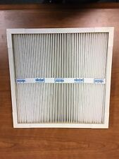 Viledon process pleated air filter