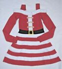 Derek Heart Womens Off Shoulder Christmas Halloween Dress Size S